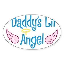 Daddys Lil Angel Decal
