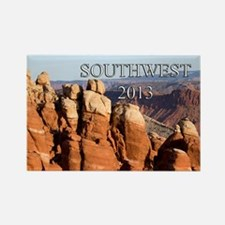 American Southwest Cover 2013 Rectangle Magnet