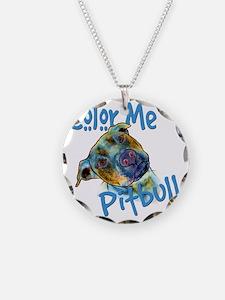 Color Me Pitbull Necklace
