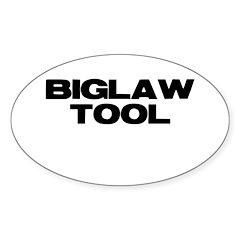 BIGLAW TOOL Oval Decal