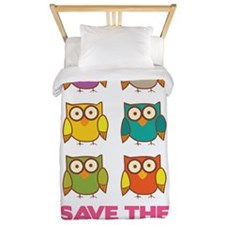 Save the hooters Twin Duvet