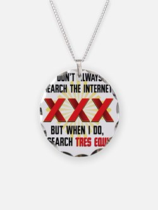 Tres Equis (XXX) Necklace