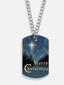 The Bethlehem Star Dog Tags
