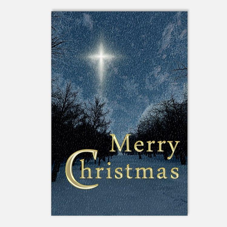 The Bethlehem Star Postcards (Package of 8)