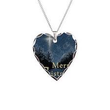 The Bethlehem Star Necklace Heart Charm