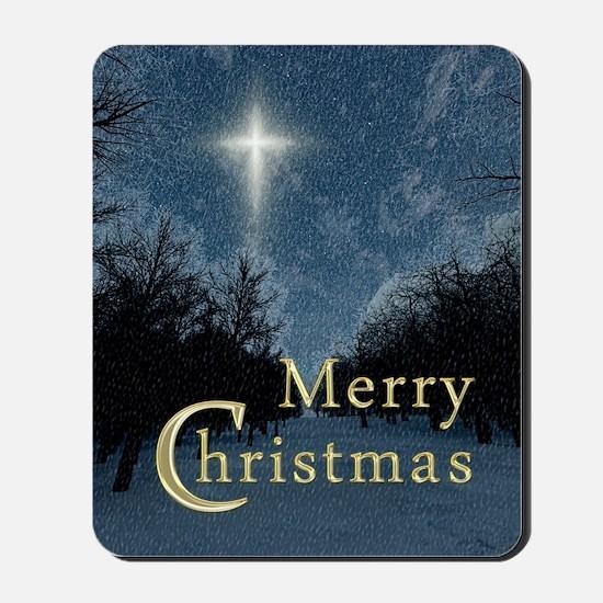 The Bethlehem Star Mousepad