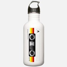 Cassette tape horizont Water Bottle