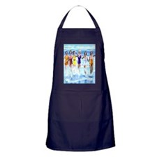 Florida Bathing Beauties Pillow Apron (dark)