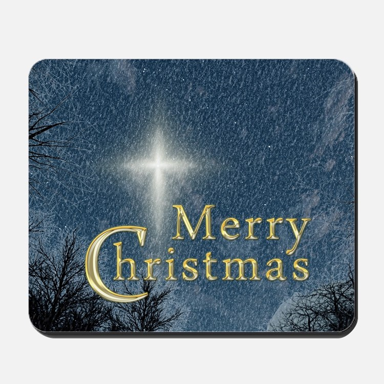 The Bethlehem Star Mousepad