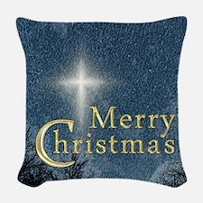 The Bethlehem Star Woven Throw Pillow