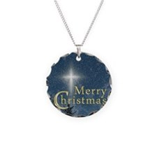 The Bethlehem Star Necklace Circle Charm
