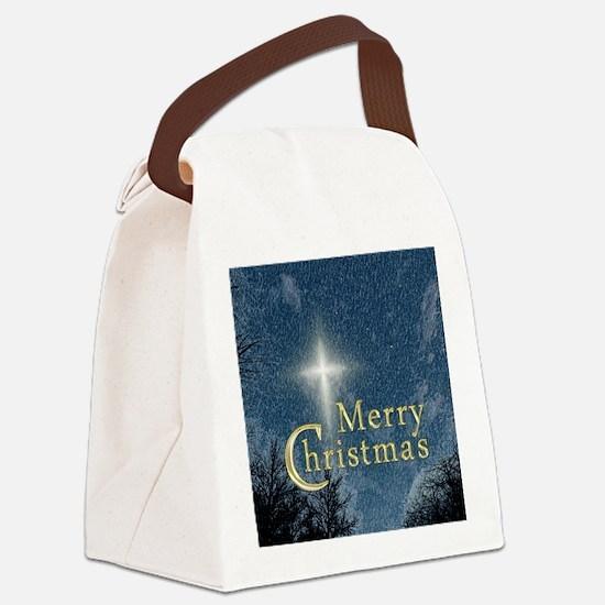 The Bethlehem Star Canvas Lunch Bag