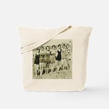 Vintage Bathing Beauties Tote Bag