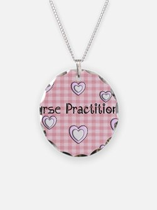 Nurse practitioner blanket H Necklace