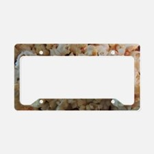 Popcorn Photograph License Plate Holder