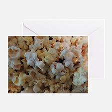 Popcorn Photograph Greeting Card