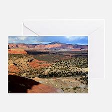 Burr Trail Canyon Greeting Card