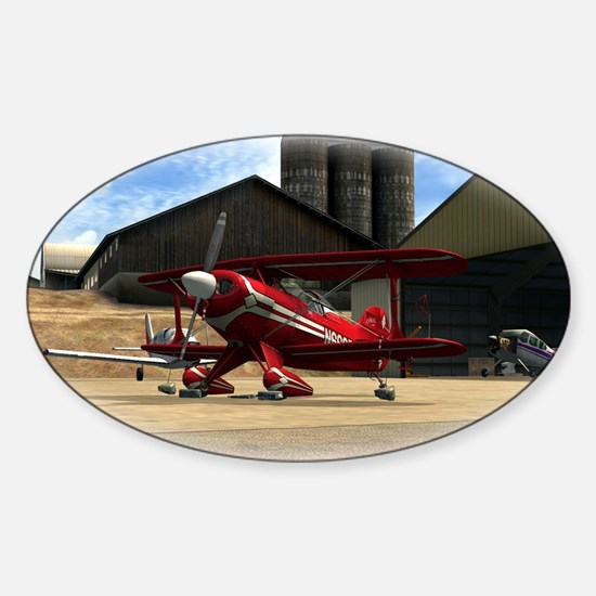 Red Pitts S2S Sticker (Oval)
