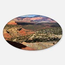 Burr Trail Canyon Sticker (Oval)