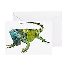 Oh How Iguana Go Home Greeting Card