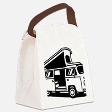 Family Camper Van Canvas Lunch Bag