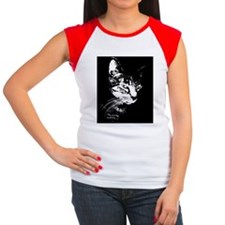 *Pookie14x10WIDE Women's Cap Sleeve T-Shirt