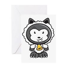 Wolf n sheep clothing Greeting Card