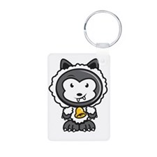 Wolf n sheep clothing Keychains
