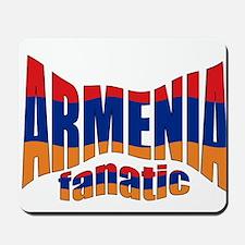 The Armenian flag fanatic Mousepad