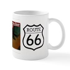 Route 66 - Burma Shave Bumper Sticker Mug