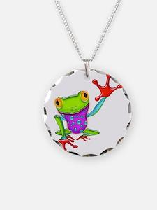 Waving Poison Dart Frog Necklace