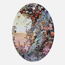 Edward Julius Detmold Fruits Of The  Oval Ornament