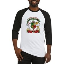 kaniac crest christmas2 Baseball Jersey