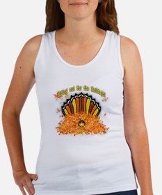 Hiding out Turkey Women's Tank Top