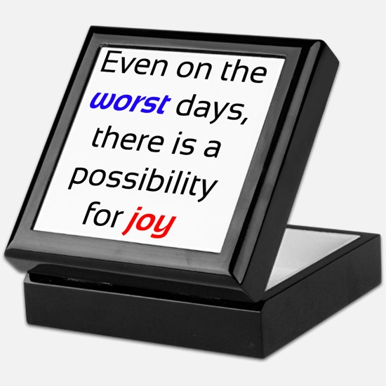 Possibility For Joy Keepsake Box