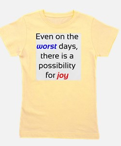 Possibility For Joy Girl's Tee