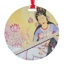 Meditative Sarasvati music Ornament