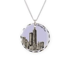 Chicago Fan Necklace