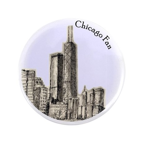 "Chicago Fan 3.5"" Button"