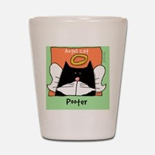 Tuxedo Cat Memorial Pooter Shot Glass