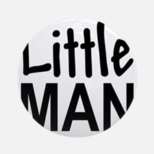 Little Man: Round Ornament
