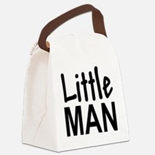 Little Man: Canvas Lunch Bag