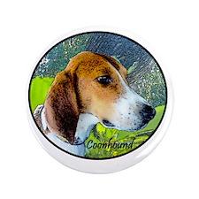 """Coonhound II 3.5"""" Button"""