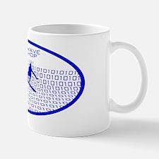 barrelwaveshorewsurferbgothicbluetroval Mug