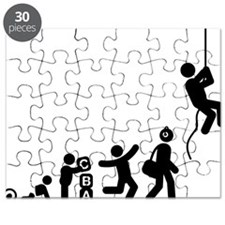 Abseiling-E Puzzle