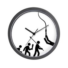 Bungee-Jumping-C Wall Clock