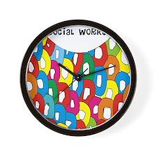 CP social worker 1 Wall Clock