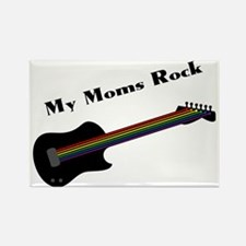My Moms Rock Rectangle Magnet