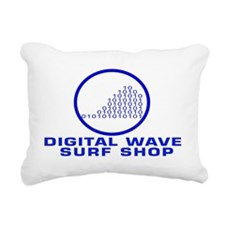 logowithoutarialbluetrci Rectangular Canvas Pillow