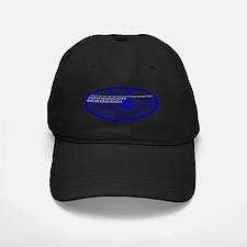 barrelwaveshorewsurferarialbluetrovalbgt Baseball Hat